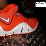Hardwood Classic LeBron IV White and Orange Sample