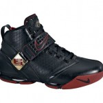 Nike Zoom LeBron V (5) Black/Red live photo
