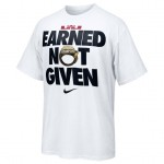 Nike to Release LeBron James' EARNED NOT GIVEN T-Shirt