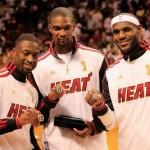 LeBron Sports Championship Gold LBJ X in Miami Heat Opener