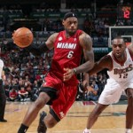 Heat Grab Commanding Lead. James Debuts LeBron X Elite Away PE.