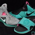 "The Showcase: LeBron ""South Beach"" Family (Shoes, Slides, Socks)"