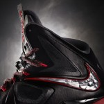 First Look at Nike LeBron X+ Black / Silver / Red. Finally!
