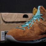 "Upcoming Nike LeBron X EXT QS ""Brown Suede"" – Release Date"