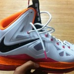 Nike LeBron X in Miami Floridians Throwback Home Colorway
