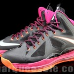 Second Look at Nike LeBron X in Miami Floridians Throwback Theme