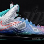 "New South Beach Nike LeBron X ""Pure Platinum"" Drops on May 4th"