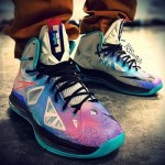 Fresh On-foot Look at the Upcoming LeBron X Pure Platinum