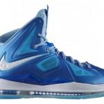 "Release Reminder: Nike LeBron X+ Sport Pack ""Blue Diamond"""