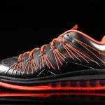 Nike Air Max LeBron X Low Black / Orange (579765-001)