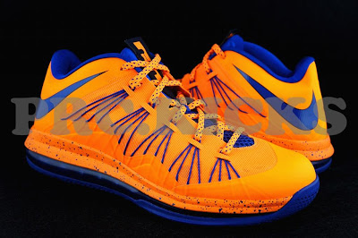 Nike Air Max LeBron X Low – Orange