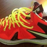 First Look at Nike LeBron X P.S. Elite in Red / Black / Volt