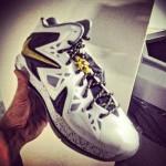 $280 Nike LeBron X P.S. Elite+ – White/Black/Gold – Release Date