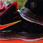 "Nike Sportswear's LeBron X EXT ""Miami Heat"" Black Suede"