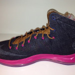 Another Look at the Nike LeBron X NSW Denim / Pink PE