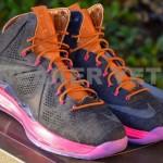 Detailed Look at Nike Sportswear's LeBron X Denim & Pink