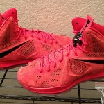 "Nike LeBron X EXT+ ""Red Suede"" – New Pics & Video Review"