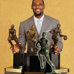 LeBron James Joins Elite Company. Wins 4th NBA MVP Award!