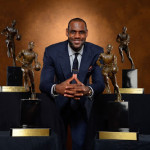 Gallery: King James Accepts 2012-13 NBA Most Valuable Player Award