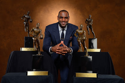 King James Accepts 2012-13 NBA Most Valuable Player Award