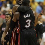 James & Wade Carry Heat to Tie the Series. LeBron With Away 9's.