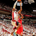 Short-handed Bulls Shock Miami Heat for 1-0 Series Lead
