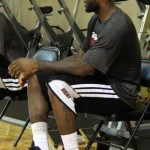 King James Spotted Wearing LeBron XI Wear Test in Practice