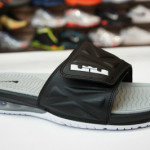 Nike Air LeBron Slide 2.0 – Black / Grey – Available at eBay