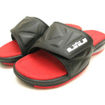 Nike Air LeBron Slide 2 – Black / Red – Available Now