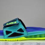 Nike Air LeBron 2 Elite Slide Sport Turquoise/Volt (578251-350)