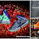 Galaxy, Chamber of Fear & Mita LeBron X Customs by Mache