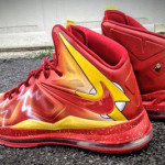 "Nike LeBron X ""The Flash"" by Mache Custom Kicks"