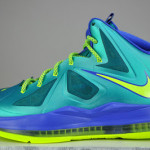 Kids Get Regular LeBron X's instead of Elites for the Turquoise Look