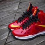 Nike LeBron X iD Miami Heat Playoffs Build by gentry187