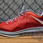 Upcoming Nike Air Max LeBron X Low University Red / Grey