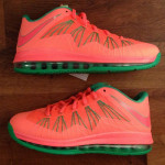 "First Look at Nike Air Max LeBron X Low ""Watermelon"""