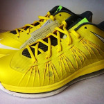 Nike Air Max LeBron X – Yellow and Black – Sample