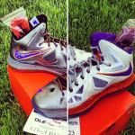 Diana Taurasi's Nike LeBron X Phoenix Mercury Home & Away PEs