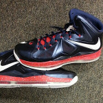 King James' Veterans Day LeBron X Player Exclusive