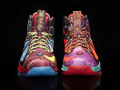 NIKE LEBRON – LeBron James Shoes » Nike Celebrates James ... Lebron 10 What The Mvp