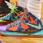 "King James Switches out of the Nike LeBron X ""What the MVP"""