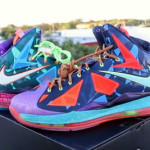 "NIKE LEBRON X ""What the MVP"" – Pics & Video Review"