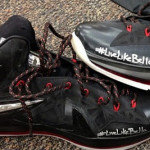 LeBron & Dwyane's PE Shoes for Tonight's Game. #LiveLikeBella