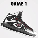 DIY: Nike LeBron X PS Elite iD White & Black (Game 1)
