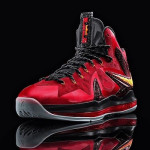 Upcoming Nike LeBron X P.S. Elite Alternate Red, Black and Gold