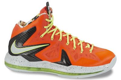 7ee8a9de33db Nike LeBron X P.S. Elite Total Crimson Fiberglass-Black-Volt