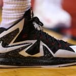 Up Close // Nike LeBron X PS Elite White & Black Game 1 PE