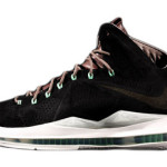 Summer 2013 // LeBron X EXT Black Suede QS (607078-001)