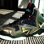Nike LeBron XI (11) Army Slate/Gun Metal Black-Light Army