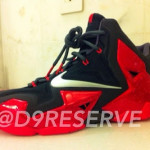 Another Look at Nike LeBron XI. Classic Black and Red.